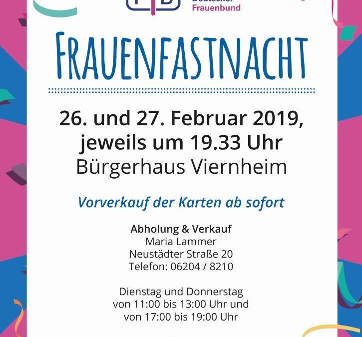 Frauenfastnacht 2019