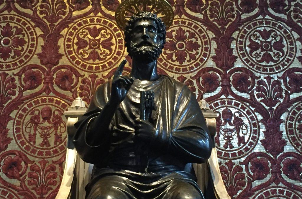 Ausstellungsbesuch: Die Päpste